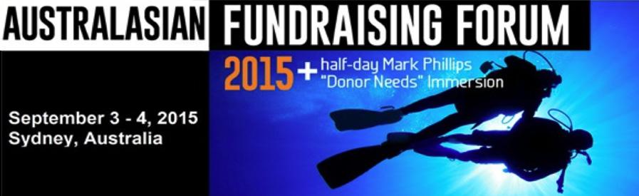 Meet us at the Australasian Fundraising Forum 2015